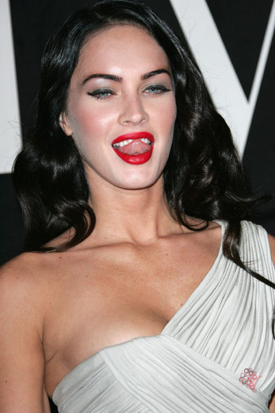 megan fox makeup looks. megan fox makeup.